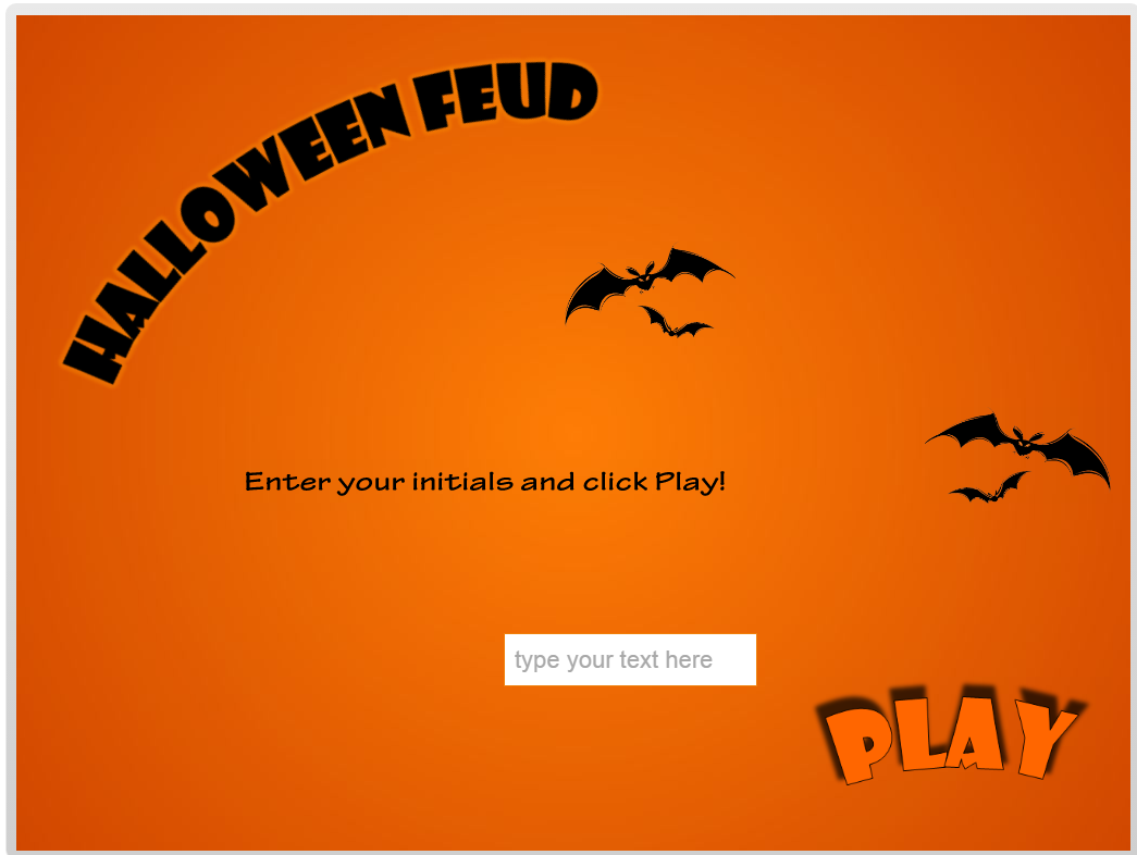 Halloween Feud