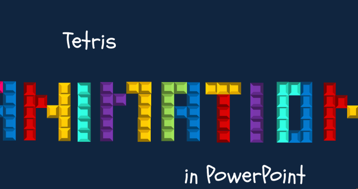 PowerPoint Tetris Animation