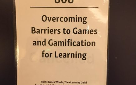 Sign of Overcoming Barriers to Games and Gamification for Learning